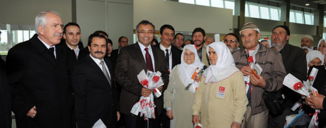 First flight abroad from Zafer Airport