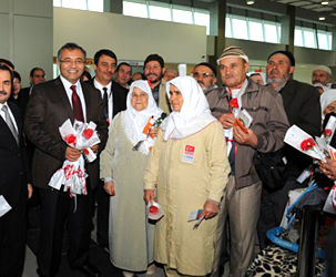 First International Flight from Zafer Airport